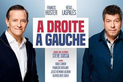 A droite à gauche avec Francis Huster et Regis Laspalès à Massy