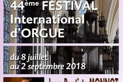 Jean-baptiste monnot - 44e festival international d'orgue de chartres à Chartres