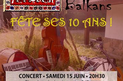 À l'Ouest des Balkans fête ses 10 ans à Villeurbanne