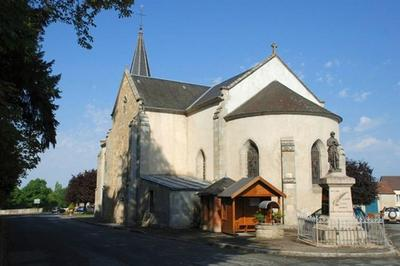 À La Découverte D'une église Du Xixe Siècle à Lussat