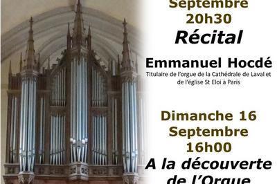 A La Découverte De L'orgue De La Cathédrale à Laval