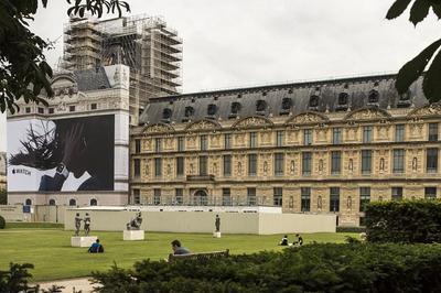 À  La Découverte Des Métiers Du Patrimoine, Le Chantier De Restauration Du Pavillon De Marsan à Paris 1er