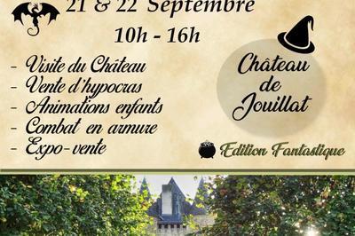 À La Découverte Du Château à Jouillat