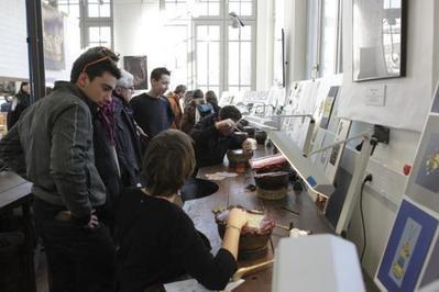 À La Rencontre Des Élèves Et Professeurs De L'école Boulle à Paris 4ème