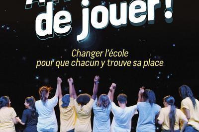 À Nous de Jouer d'Antoine Fromental à Decines Charpieu