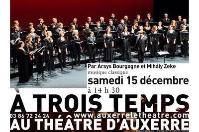 À trois temps à Auxerre