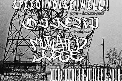 Speed-noise-hell - osserp - mutilated judge à Toulouse