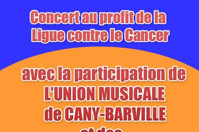 Concert au profit de la ligue contre le cancer à Saint Pierre en Port