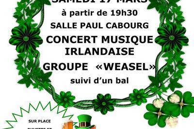 Concert de la St Patrick à Balbigny