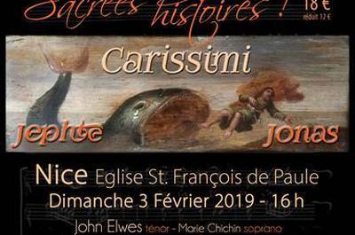 Carissimi. Histoires sacrées... sacrées histoires ! à Nice