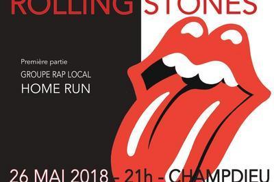 Tribute des Rolling Stones à Champdieu