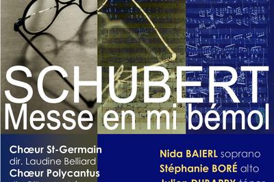 Schubert - Messe en mi bémol majeur à Saint Germain en Laye