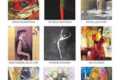 Exposition peinture Stella Art International à Villers sur Mer