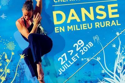 14e Festival Chemins des Arts, festival de danse en milieu rural 2018