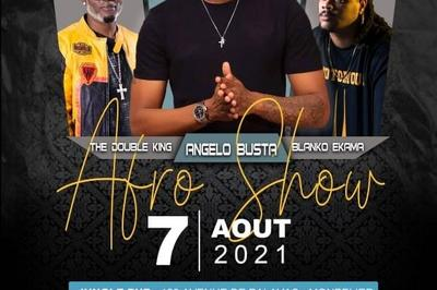 Afro Show / Angelo Busta - The Double King - Blanko Ekama à Montpellier
