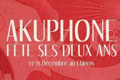 Akuphone Fete Ses Deux Ans à Montreuil