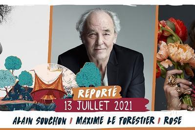 Alain Souchon / Maxime Le Forestier / Rose à Saint Malo du Bois