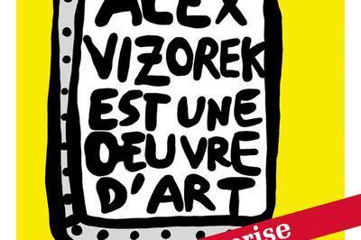 Alex Vizorek Est Une Oeuvre D'Art à Paris 2ème