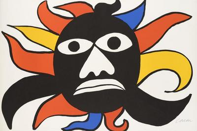 Alexander Calder: La Gouacherie à Vezelay