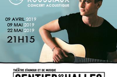 Alexis ROUSSIAUX au Sentier des Halles à Paris 2ème