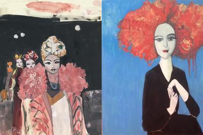 « Une année de peinture Made in Montreuil » ICI Montreuil expose les œuvres d'Aliénor de Cellès