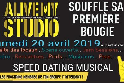 Alive My Studio Fête Ses 1 An! Et Si On Se Rencontrait ? Speed Dating Musical à Vendargues
