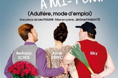 Dîner spectacle: Amant à mi-temps à Angers