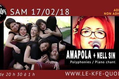 Amapola + Nell Sin à Forcalquier