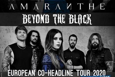 Amaranthe   Beyond The Black à Paris 18ème