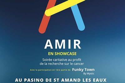 Amir En Show Case à Saint Amand les Eaux