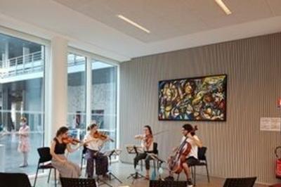 Ancienne Prison Saint-paul, Rencontre Musicale Avec Un Quatuor à Lyon