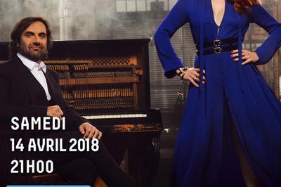 Andre Manoukian Et Elodie Frege à Blois