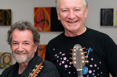« Andy Irvine & Dònal Lunny » à Tregunc