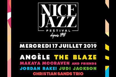 Angele/ The Blaze/ Makaya Mccraven à Nice