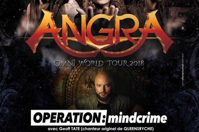 Angra, Operation : Mindcrime, Halcyon way et Avelion à Lyon