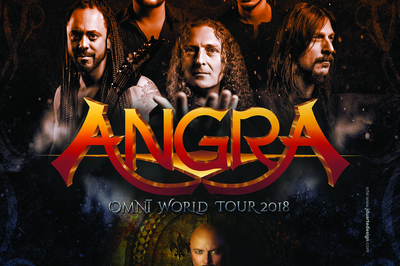 Angra + Operation Mindcrime + Halcyon Way + Avelion à Vaureal