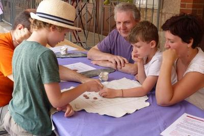 Animation Jeune Public : Ateliers Jeux Antiques à Montans