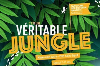 Animation Jeune Public Livret-jeux : C'est Une Véritable Jungle ! à Pont saint Esprit