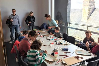 Animation Jeune Public : Peindre à La Manière De Gernez à Honfleur