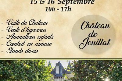 Animations Au Château De Jouillat