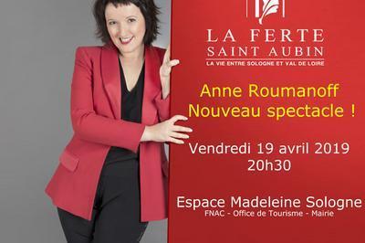 Anne Roumanoff à La Ferte saint Aubin