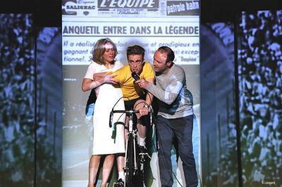 Anquetil Tout Seul à Auxerre