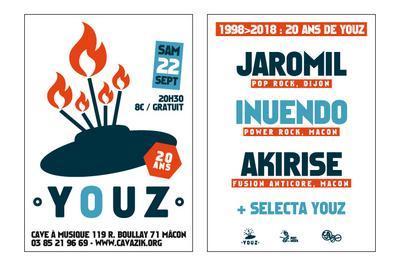 1998 > 2018 : 20 Ans de Youz à Macon