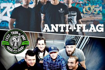 Anti-flag Et Less Than Jake à Villeurbanne