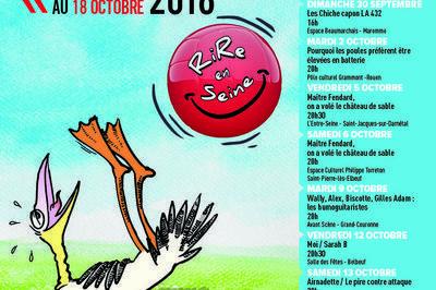 Festival d'Humour & de curiosité Rire en Seine 2018