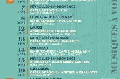 Aperojazz: Julien Brunetaud à Peyrolles en Provence