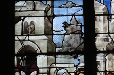 Application Chabot Sur Les Vitraux De La Renaissance à Bourges