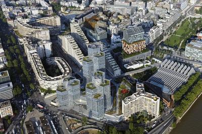 Architecture Du Trapèze à Boulogne Billancourt