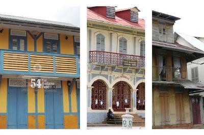 Architecture Traditionnelle De Guyane : Emprunts Et Spécificités à Cayenne