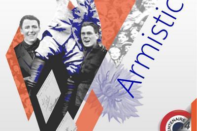 Armistice 1918, spectacle et exposition à Pressins
